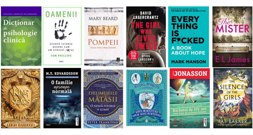 Toamna literară la Editura Trei: titluri mult așteptate, autori îndrăgiți și serii spectaculoase