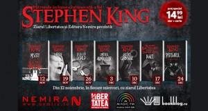 Seria Stephen King la chioşcurile de presă