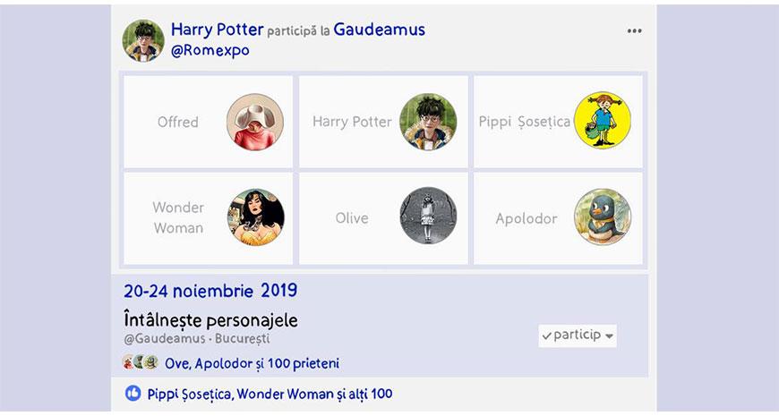 Grupul Editorial ART îți dă întâlnire cu personajele preferate la Gaudeamus
