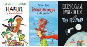 Concurs Polirom Junior: câștigă un pachet cu trei cărți pentru copii [încheiat]
