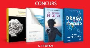 Concurs Editura Litera: recomandări februarie