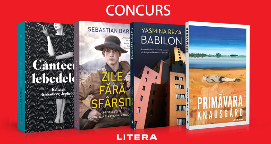 Concurs Editura Litera: recomandări aprilie [încheiat]