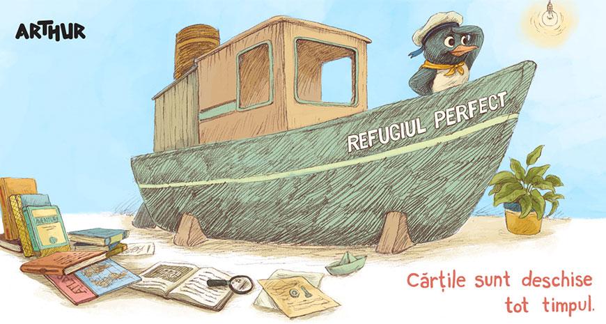 Concurs Editura Arthur: #RefugiulPerfect [încheiat]