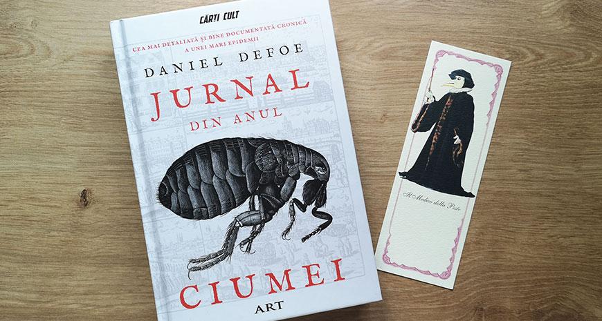 """Cea mai detaliată cronică a unei mari epidemii: """"Jurnal din Anul Ciumei"""", de Daniel Defoe"""