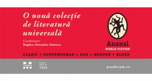 """Editura Pandora M lansează o nouă colecție de literatură universală:  """"ANANSI. World Fiction"""""""