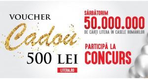 Concurs: câștigă un voucher cadou de 500 de lei de la Editura Litera [încheiat]