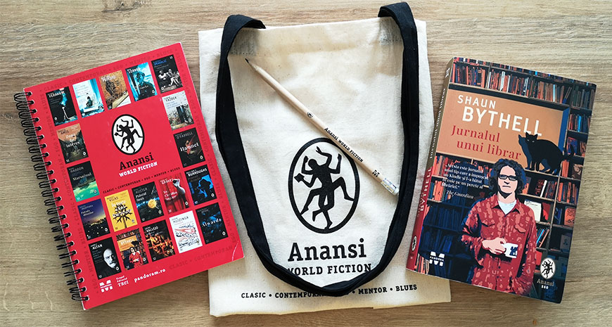 "Concurs Anansi: ""Jurnalul unui librar"", de Shaun Bythell [încheiat]"