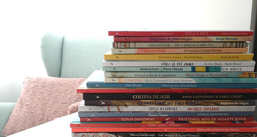 Din dragoste pentru copii și pentru cărți: editura Signatura