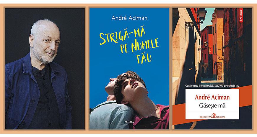 """Concurs André Aciman: """"Strigă-mă pe numele tău"""" și """"Găsește-mă"""" [încheiat]"""