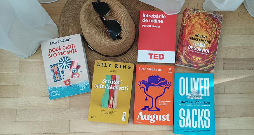 Cărți pentru vacanță, sezonul de vară 2021