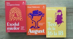 Concurs Editura Nemira: Câștigă 3 cărți n'autor [încheiat]