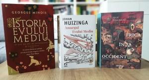 Între caracterul aprig al vieții și viața în culorile basmului: 3 cărți despre Evul Mediu