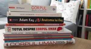 10 cărți despre corpul uman