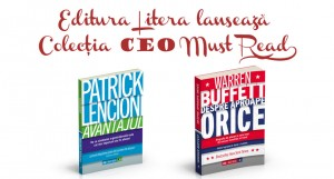 Editura Litera lansează colecția de business CEO Must Read