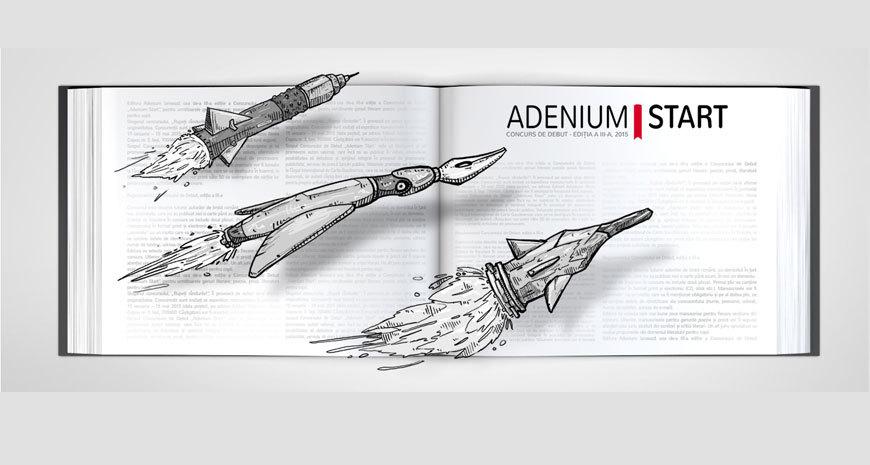 """Editura Adenium dă startul celei de-a III-a ediții a Concursului de Debut """"Adenium Start"""""""