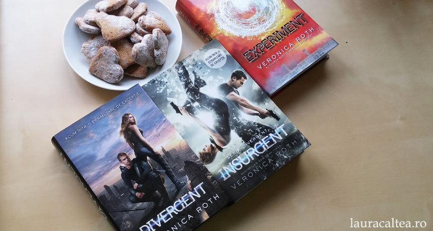 """Distopie și romance, despre seria """"Divergent"""", de Veronica Roth"""