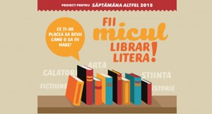 Litera transformă copiii în mici librari