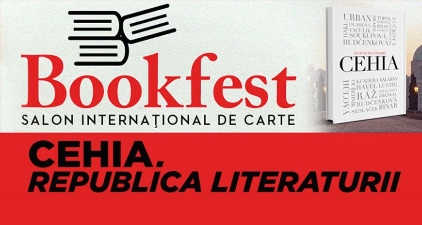 Republica Cehă – invitatul de onoare al celei de a X-a ediții a Salonului Internațional de Carte Bookfest