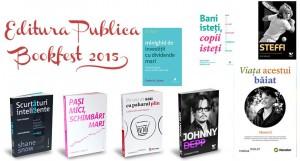 Noutăți ale Editurii Publica la Bookfest 2015