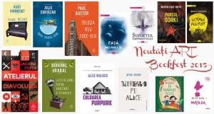 Noutăți ale Grupului Editorial Art la Bookfest 2015