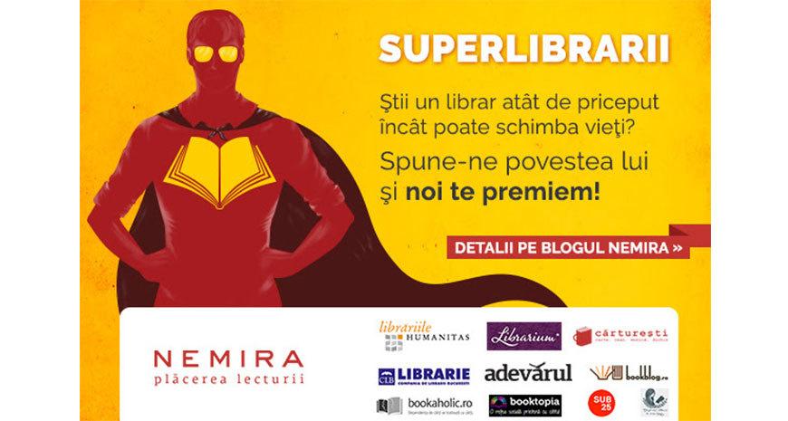 """Editura Nemira lansează campania """"Superlibrarii"""""""