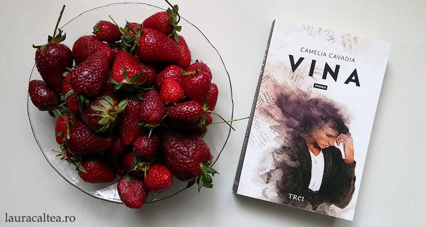 """Despre dragoste și alți demoni: """"Vina"""", de Camelia Cavadia"""