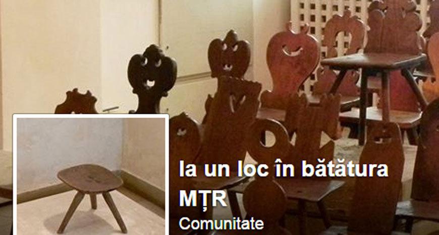 Ia un loc în bătătura MȚR, un proiect pentru oameni cu scaun la cap