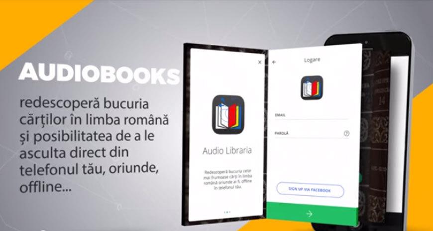 """""""Audio Librăria"""": aplicație pentru cărți audio în limba română"""