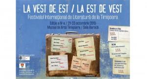 Nume importante ale literaturii europene de azi la Festivalul Internațional de Literatură de la Timișoara (FILTM) 2015