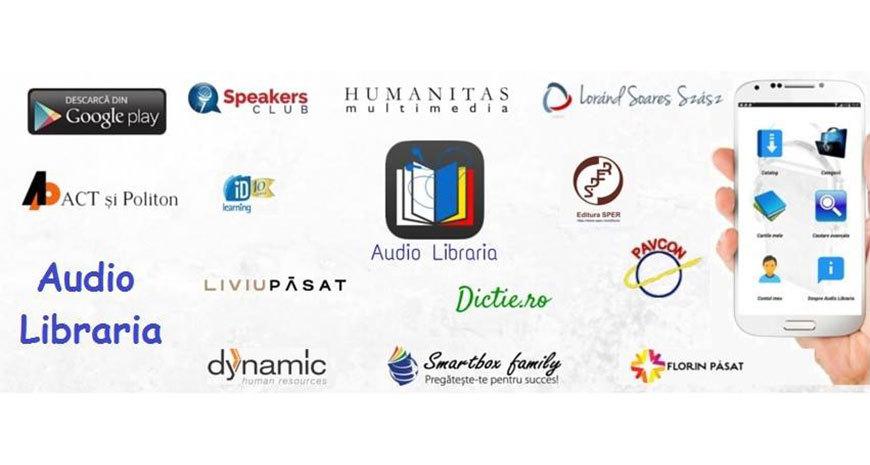 S-a lansat aplicația Audio Librăria, prima librărie de cărți audio din România
