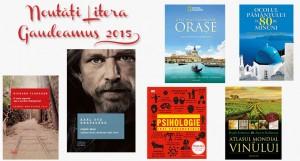 Noutățile Editurii Litera la Gaudeamus 2015