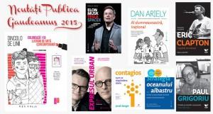 Noutățile Editurii Publica la Gaudeamus 2015
