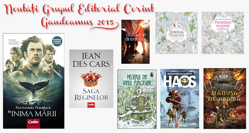 Noutățile Grupului Editorial Corint la Gaudeamus 2015