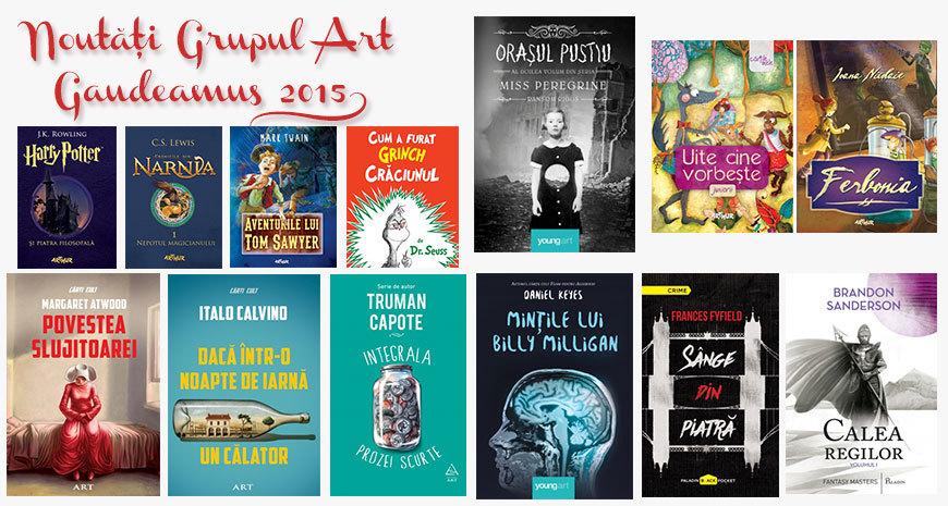 Noutățile Grupului Editorial Art la Gaudeamus 2015