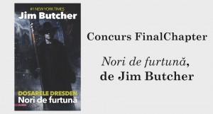 """Concurs """"Nori de furtună"""", de Jim Butcher [încheiat]"""