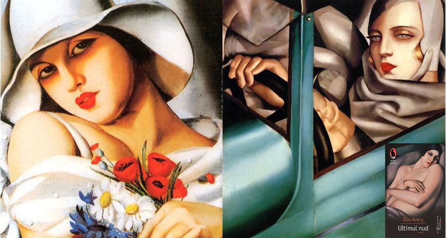 """Corpuri de femei, priviri de bărbați, despre """"Ultimul nud"""", de Ellis Avery"""