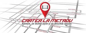 Cartea la metrou, o campanie de lectură realizată de Editura Litera