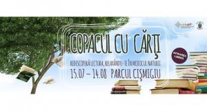 Copacul cu cărți redeschide zona de lectură în Parcul Cișmigiu