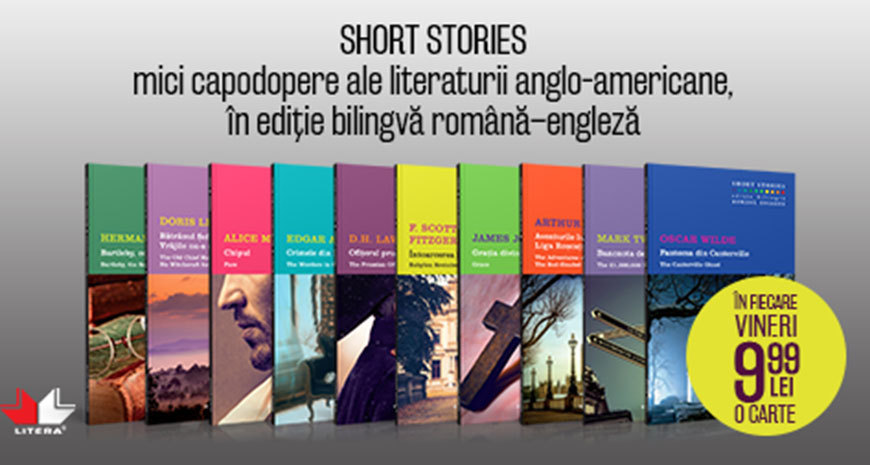 """Short Stories"", o nouă colecție Litera"