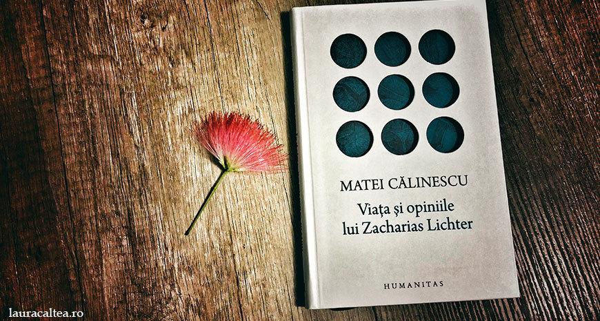 "Zacharias Lichter despre umanitate (""Viața și opiniile lui Zacharias Lichter"", de Matei Călinescu)"