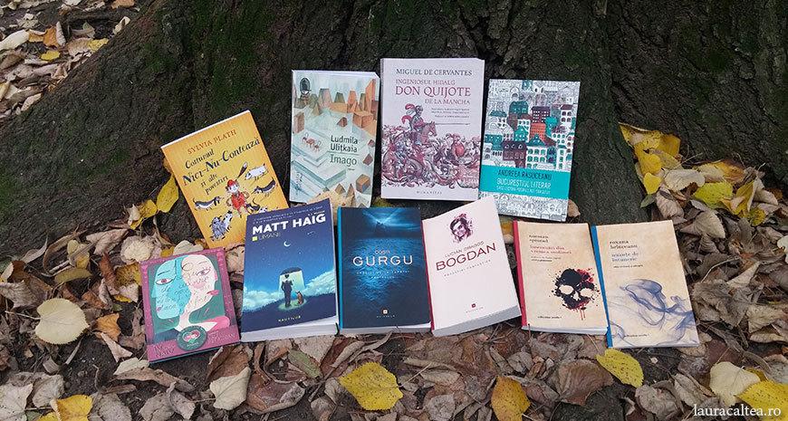 Noutăți literare 17-23 octombrie 2016