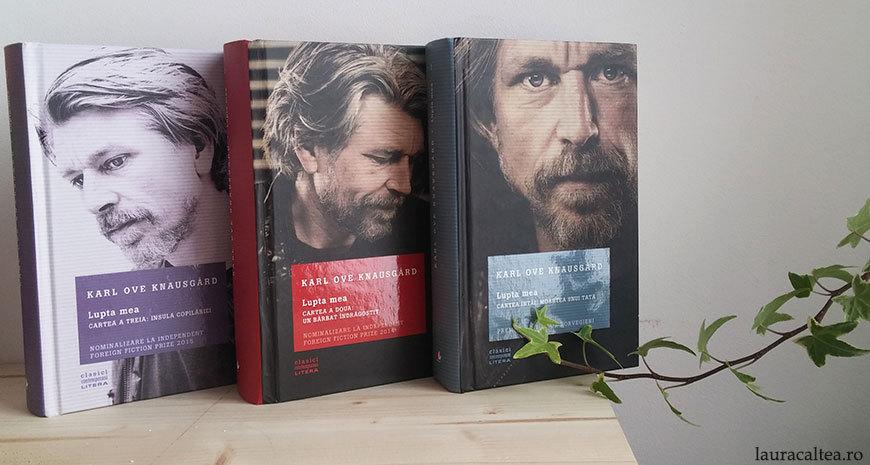 """De ce să citești """"Lupta mea"""" de Karl Ove Knausgård"""