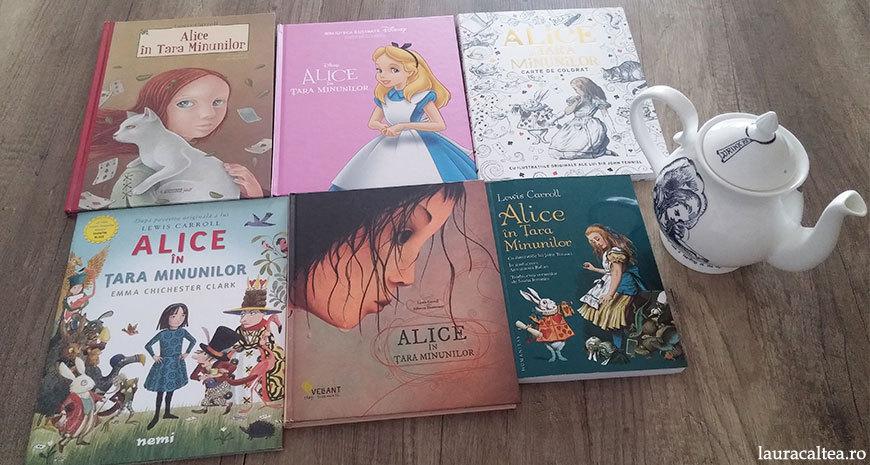 """""""Alice în Țara Minunilor"""", de Lewis Carroll – interpretări vizuale"""