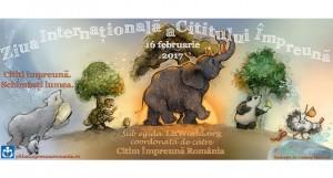 Ziua Internaţională a Cititului Împreună (ZICI) 2017 - 80 de ocazii să citim împreună