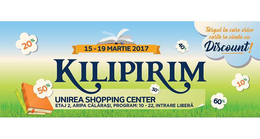 Reduceri la cărți de până la 80%, la KILIPIRIM 2017
