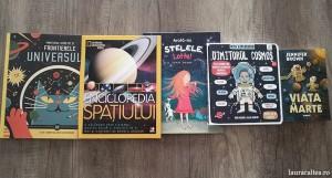 5 cărți de astronomie pentru copii