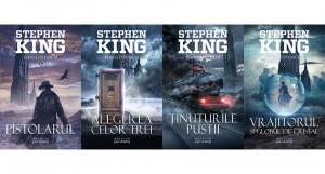 """""""Turnul întunecat"""", de Stephen King, acum în colecția Nautilus, odată cu lansarea filmului în cinematografe"""