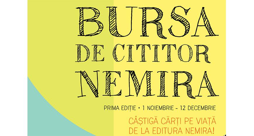 Bursa de cititor Nemira – cărți pe viață pentru elevi!