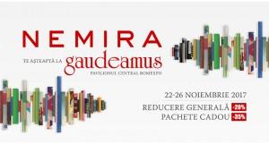 Noutățile editurii Nemira la Gaudeamus 2017: cărți de Liu Cixin, George R.R. Martin, Neil deGrasse Tyson și Jhumpa Lahiri