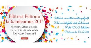 Editura Polirom la Gaudeamus 2017